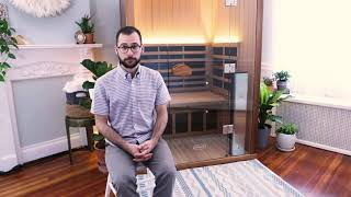 Joseph talks about his experience with his Clearlight Sanctuary 2 Full Spectrum Infrared Sauna.