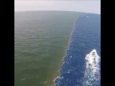 Barrier between the Two sea's