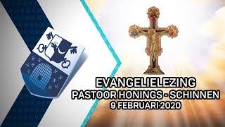 Evangelielezing pastoor Honings Schinnen – 9 februari 2020 - Peel en Maas TV Venray