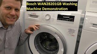Bosch WAN28201GB 1400 Spin Washing Machine