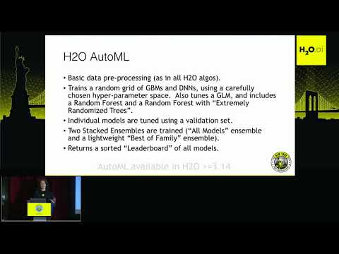 Scalable Automatic Machine Learning with H2O - Erin  , H2O.ai