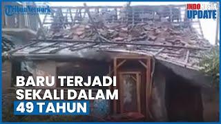 Puting Beliung Rusak Ratusan Rumah Warga di Demak, Lurah 49 Tahun Hidup, Baru Kali Ini Terjadi