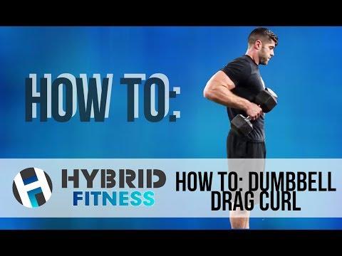 How To: Dumbbell Drag Curl   Secret Bicep Builder!