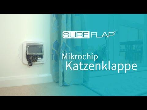 Erste Schritte mit der SureFlap Mikrochip Katzenklappe