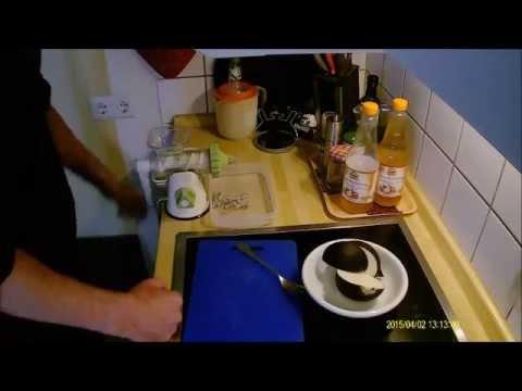 Video Juice & pulp: black Spanish radish and the hand juicer, part 1/4