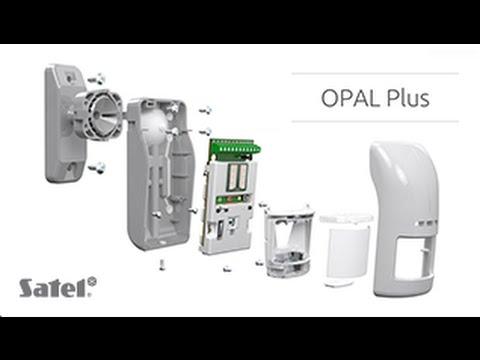 OPAL Plus - Rilevatore di movimento da esterno doppia tecnologia PIR+MW