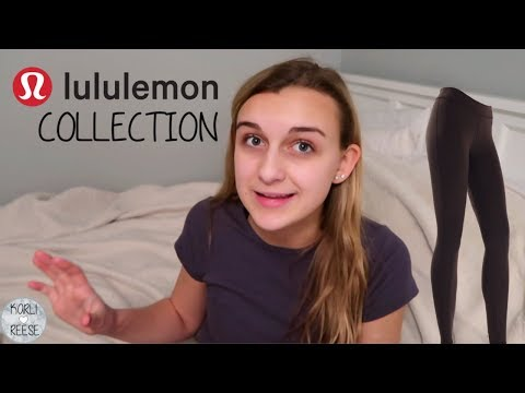 MY LULULEMON COLLECTION!