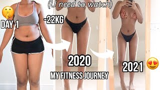 Getting into shape in 2021- Setting myself a fitness goal