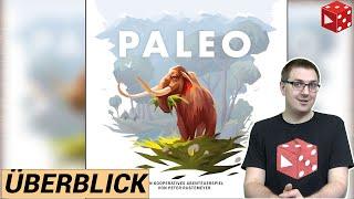 Überblick: PALEO (Peter Rustemeyer, Hans im Glück 2020) - Nominiert zum Kennerspiel des Jahres 2021