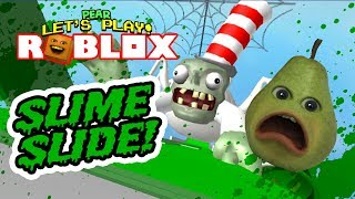 Dr. Zombie's Slime Slide! [PEAR Plays]