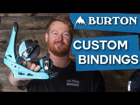 2018 Burton Custom Snowboard Bindings – Review – TheHouse.com