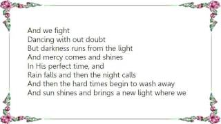 Cindy Morgan - Sweet Days of Grace Lyrics