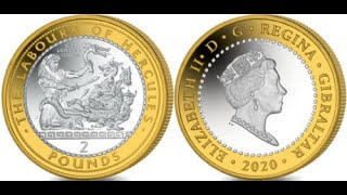 Gibraltar Hercules £2 coins - what is all the fuss over? This!