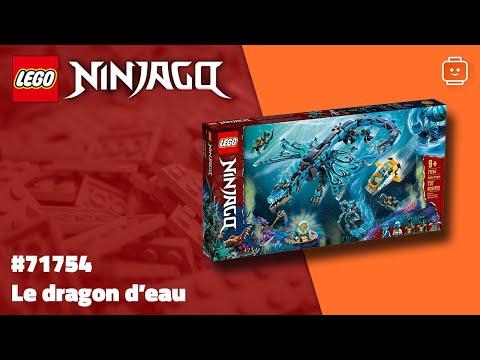 Vidéo LEGO Ninjago 71754 : Le dragon d'eau
