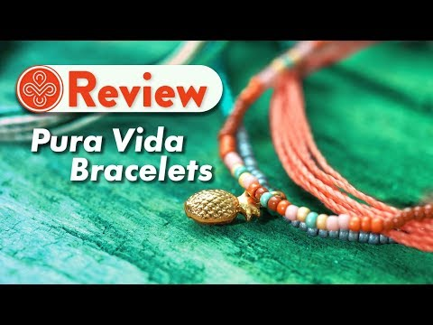 Pura Vida Bracelets Review and Unboxing | Get FREE Shipping & Gift On Your Order!