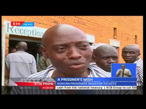 Voter registration for inmates across Kenya enters day two as prisoners speak of their expectations