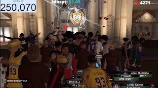 FINALLY HIT 99 OVERALL (LIVE STREAM) YOUTUBE LOGO 99 OVERALL STRETCH BIG!! BEST DUO ft Power DF 2K19