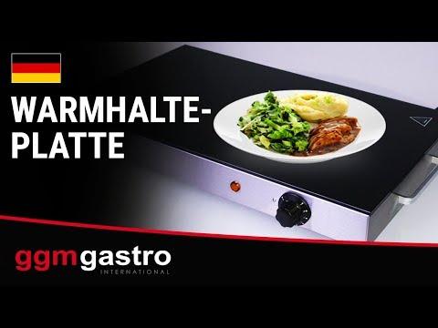 Warmhalteplatte  - GGM Gastro