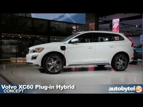Volvo XC60 Plug-in hybrid concept at the 2012 Detroit Auto Show video