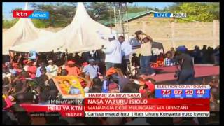 Mbiu ya KTN: NASA yazuru Isiolo