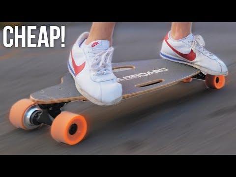 $200 Cheap Electric SkateBoard Review (Swagboard)