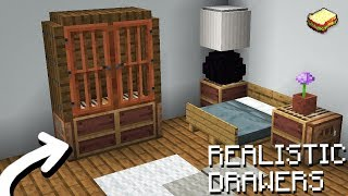 Minecraft 1.14, MCPE | How To Make A Realistic Room (Snapshot 19w04)