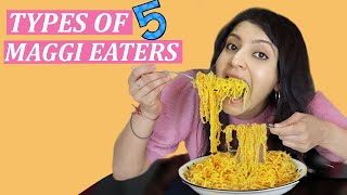 TYPES OF MAGGI EATERS 5   Laughing Ananas