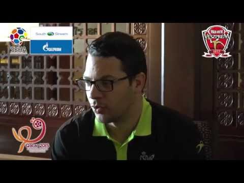 Jose Maria Chema Rodriguez interview on Qatar 2015
