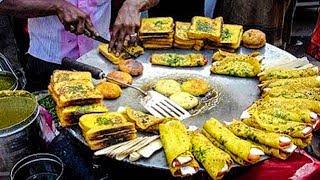 100 RARE STREET FOODS | RARE FOODS ALL AROUND THE WORLD | PART 6 | INDIAN STREET FOODS | street food