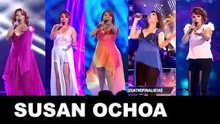 Todas Las Presentaciones De Susan Ochoa En Los Cuatro Finalistas