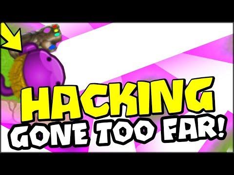HACKING HAS GONE TOO FAR :: HACKER VS HACKER x100 THANOS MONKEY - Bloons TD Battles