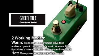 Mooer Green Mile Overdrive Video