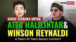 SURAT TERBUKA UNTUK ATTA HALILINTAR & WINSON ! BARU WAJIB TONTON
