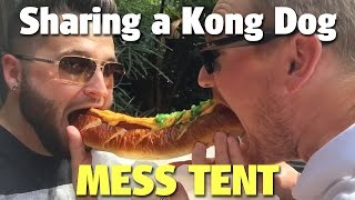Craig and Ryno Share a Kong Dog | Mess Tent | Islands of Adventure
