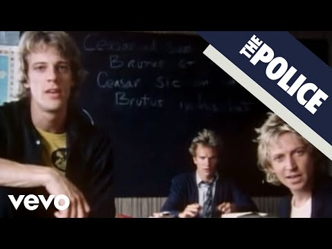 The Police - Don't Stand So Close To Me (Official Music Video)