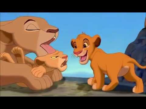 TLG - with Simba and Mufasa