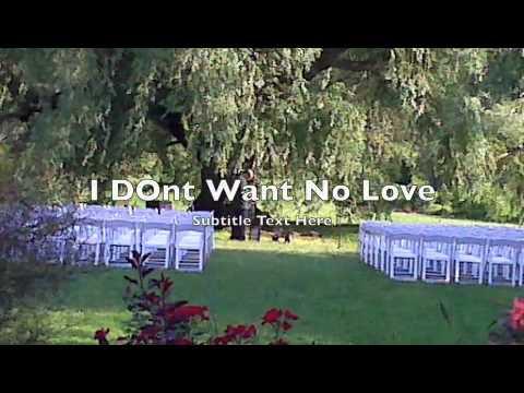 LOVE NOT MINE...