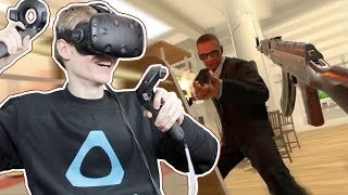 ACTION-PACKED SHOOTING GAME | Fast Action Hero VR (HTC Vive Gameplay)