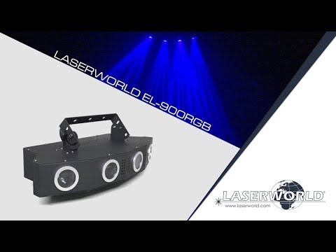 Laserworld EL-900RGB multi colour laser