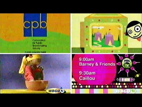 PBS Kids Bumper: What Do You Think About? - Barney ...