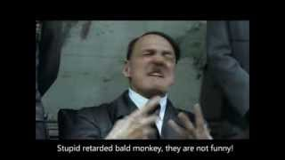 Hitler plans to flag Downfall parodies