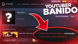YOUTUBERS BANIDOS PELA WAVE BAN! (VAC NET salvando o CS:GO?)