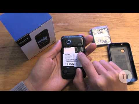 Unboxing - Sony XPERIA Tipo