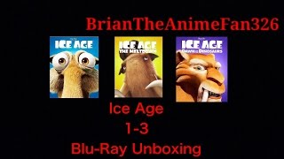 Ice Age 1-3 (Family Icons Edition) Blu-Ray Unboxing