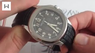 Patek Philippe Aquanaut 5167 Luxury Watch Review