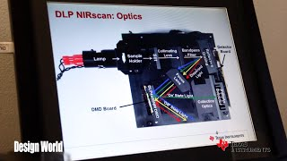 A simple way of making optical spectrometers - TI DLP® technology for spectroscopy - CES2015