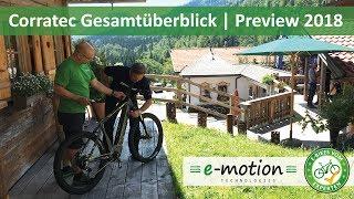 Corratec e-Bikes: Neuheiten 2018   Pedelec Preview, Vorschau