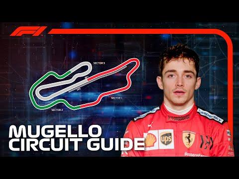 フェラーリのルクレールがムジェロサーキットをF1マシンで走行し紹介するオンボード動画。