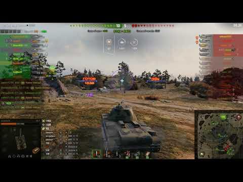 world of tanks 2019 карта Карелия, бой на КВ 3, осторожный бой