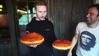 Гигантский МАТТЕО-пончик vs Dunkin